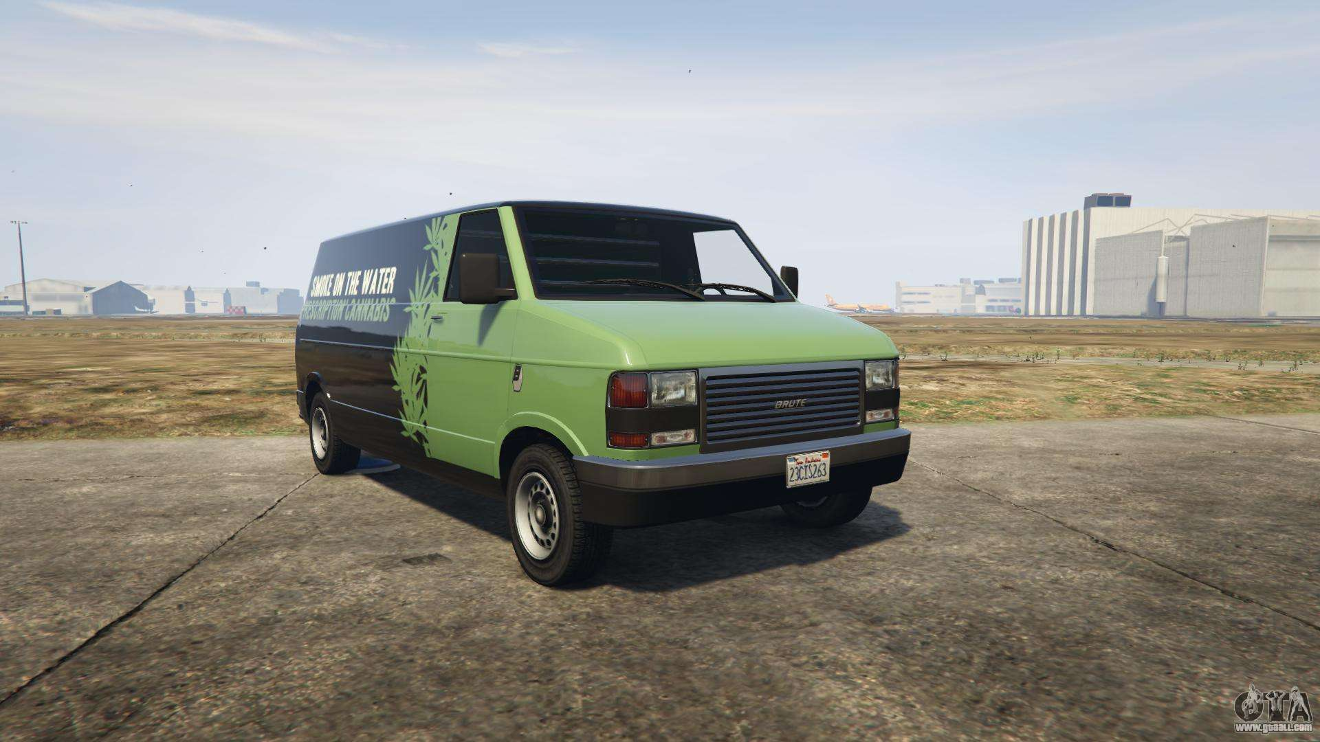 GTA 5 Brute Pony - front view
