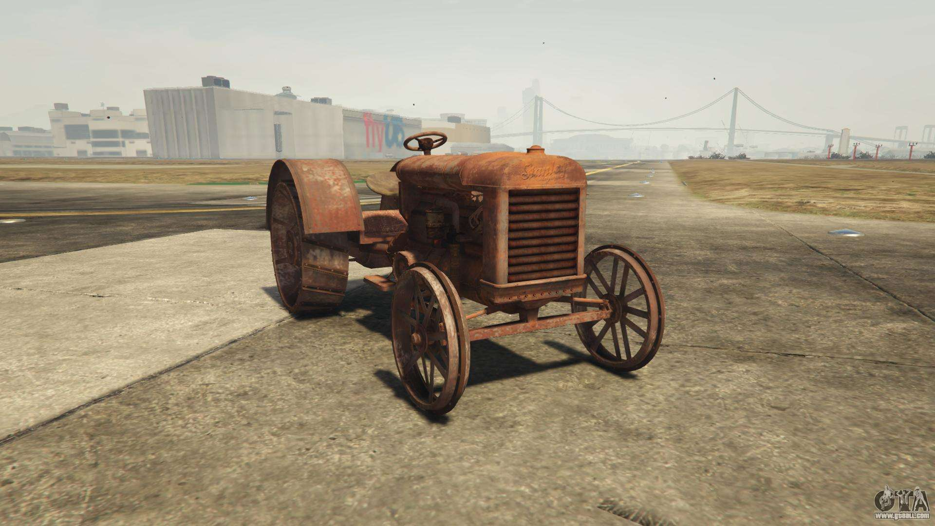 GTA 5 Stanley Tractor - front view