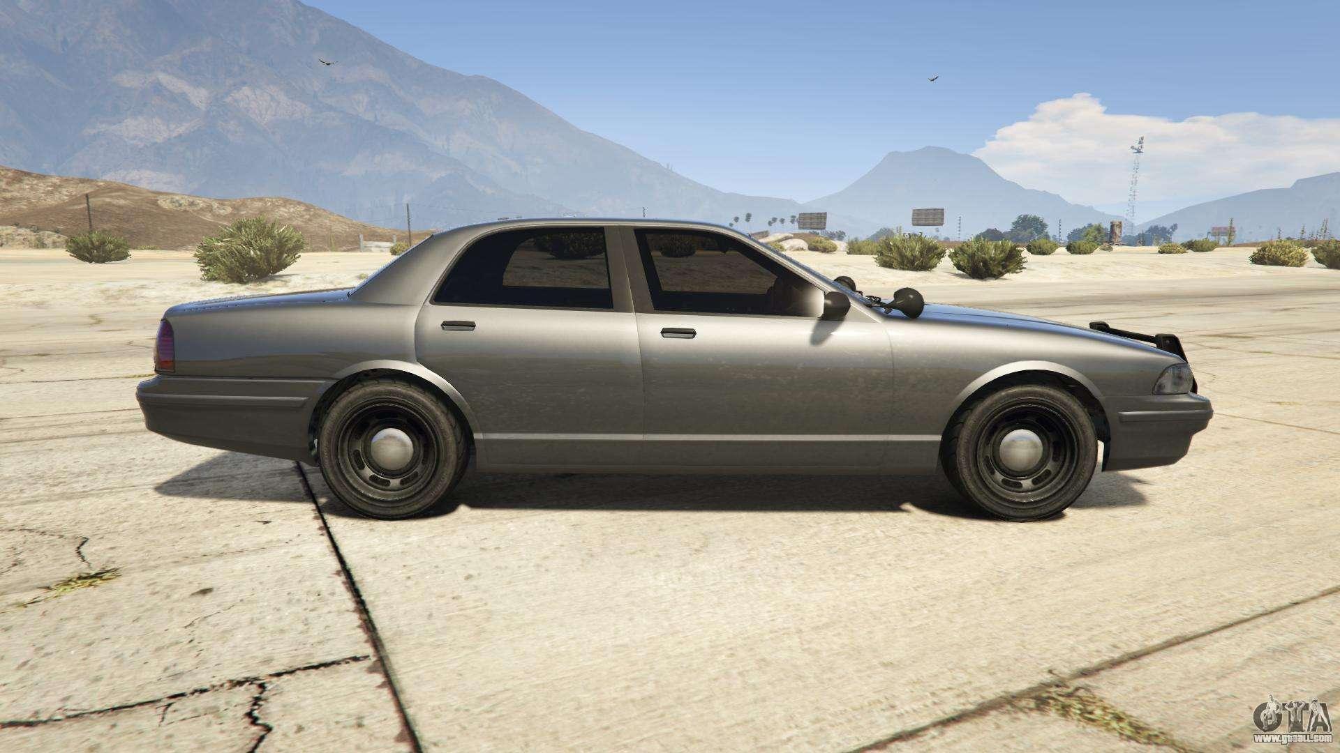 Unmarked police car gta 5 -  Gta 5 Vapid Unmarked Cruiser Side View