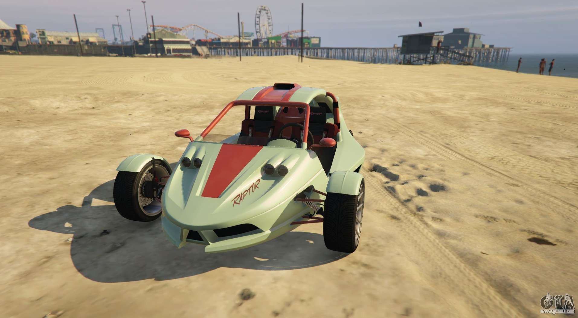 Original tricycle from GTA 5 BF Raptor