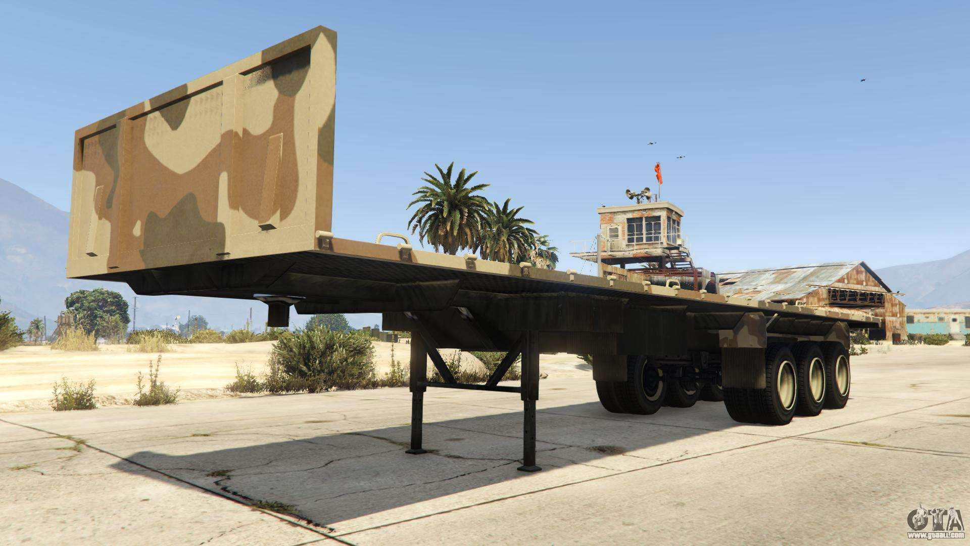 army trailer from gta v characteristics description and screenshots. Black Bedroom Furniture Sets. Home Design Ideas