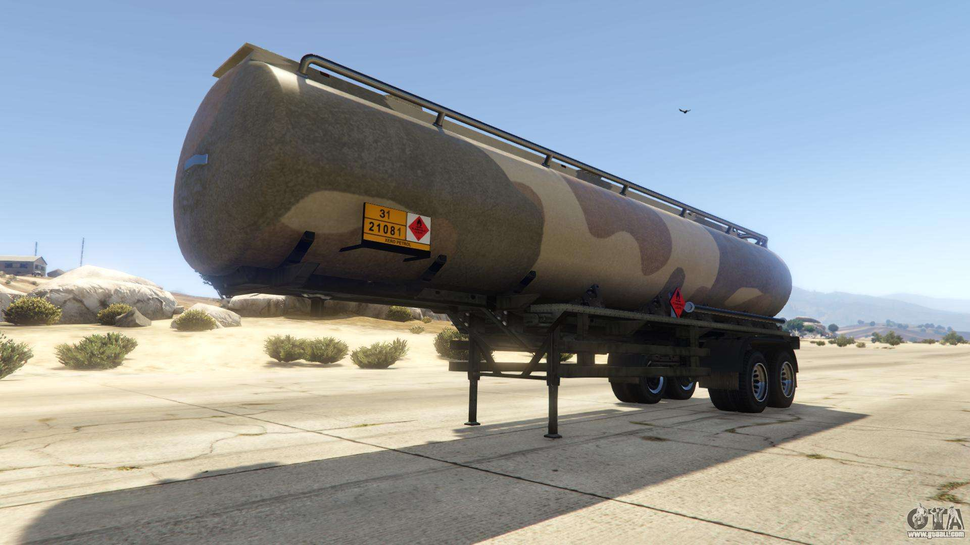 Army Tanker from GTA Online