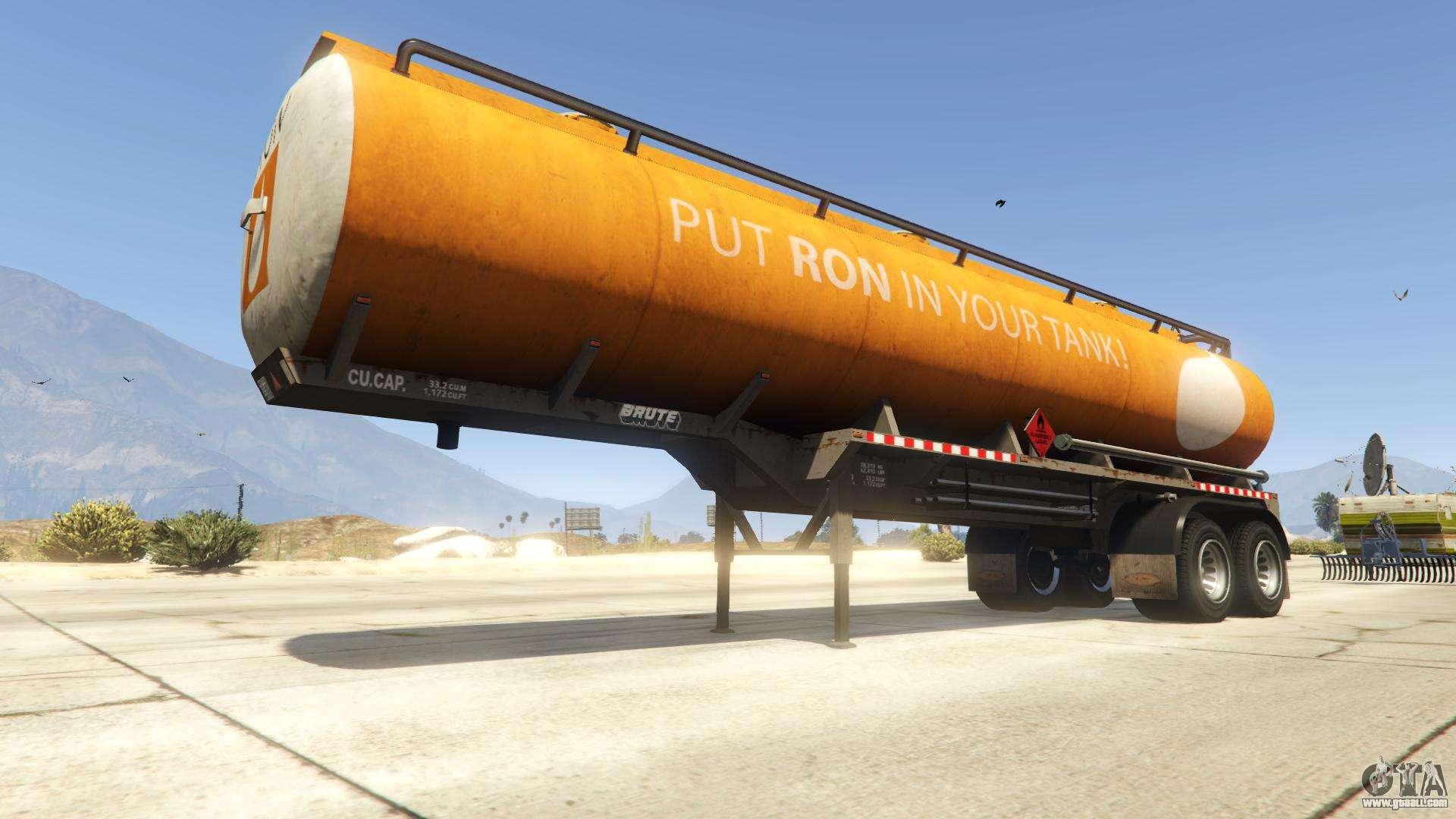 Tanker from GTA 5