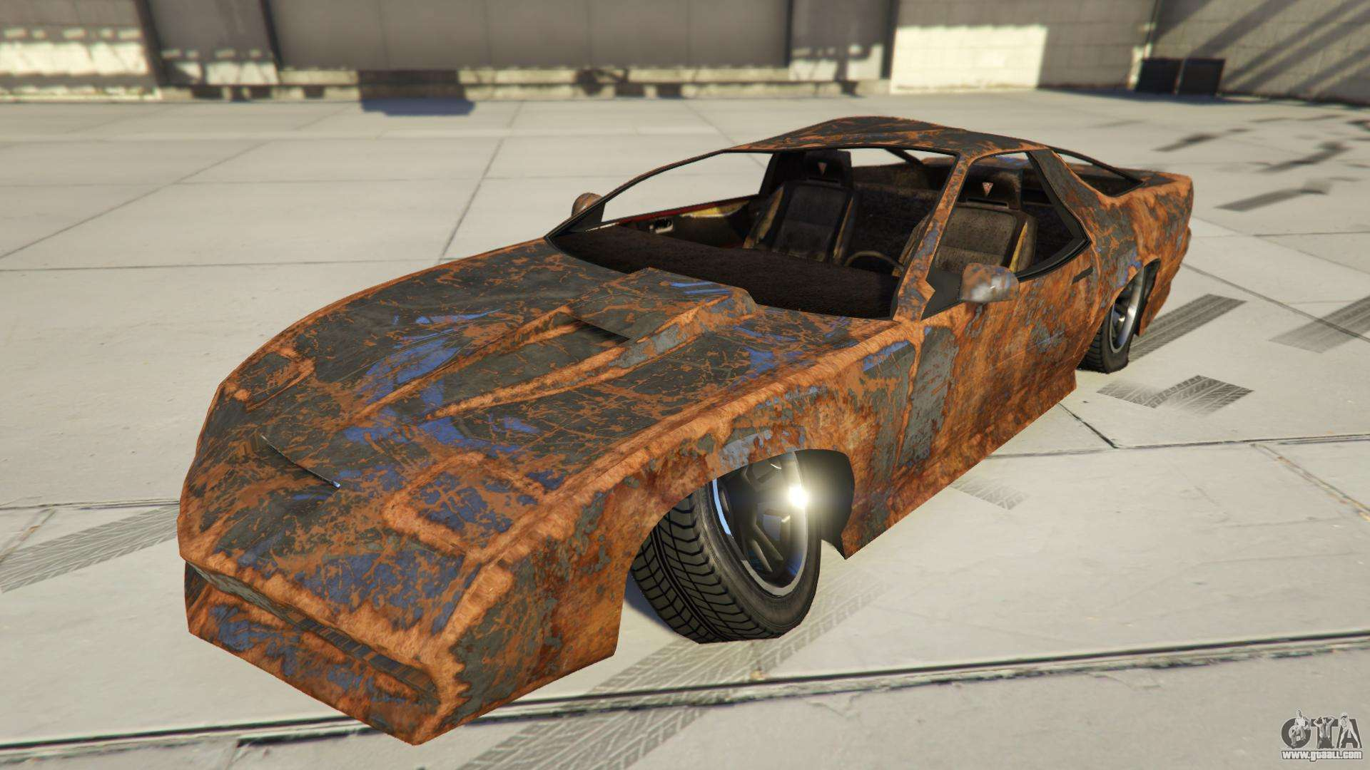 imponte ruiner rusty from gta online characteristics description and screenshots. Black Bedroom Furniture Sets. Home Design Ideas