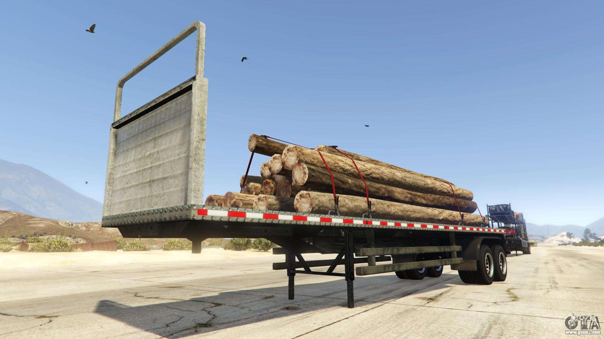 Log Trailer from GTA Online