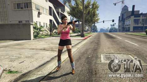 Female character in GTA 5 Online