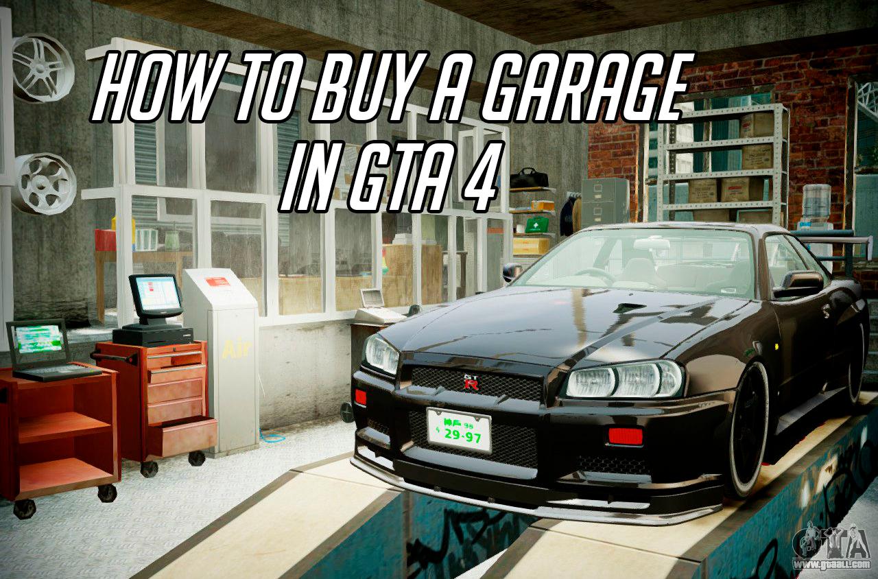 Buy a garage in GTA 4: is it possible