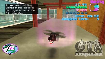 RC Helicopter in GTA Vice City