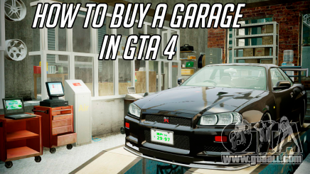 The garage in GTA 4