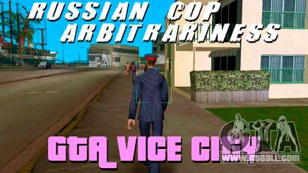 COP chaos in GTA Vice City