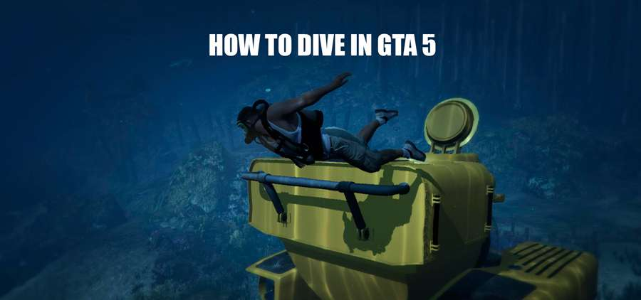 How to dive in GTA 5