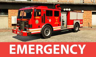 Transporte servicos de emergencia de GTA 5