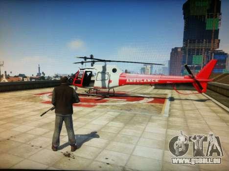 un Hélicoptère dans GTA 5