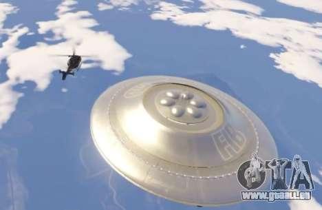 GTA 5 soucoupe Volante (UFO) Rivages de Sable