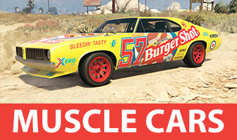 GTA 5 Muscle Cars