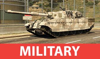 Vehiculos militares de GTA 5