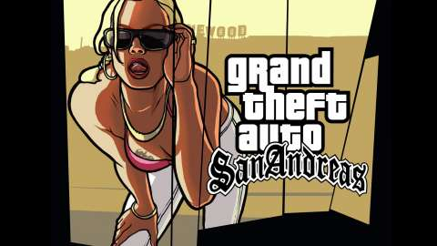 GTA San Andreas on iOS - gameplay