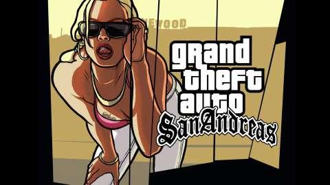 GTA San Andreas on iOS - gameplay
