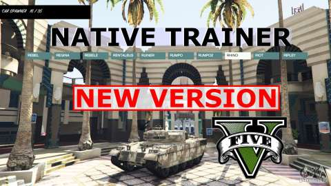 GTA V NATIVE TRAINER
