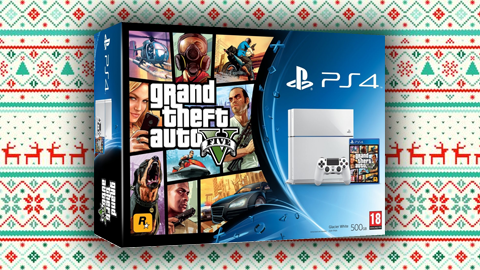 Giveaway of the Sony PlayStation 4 + GTA 5