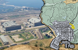 Map of the millitary objects in GTA 5
