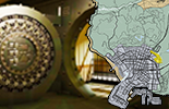 The map of the banks in GTA 5