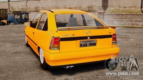 Opel Kadett GL 1.8 1996 for GTA 4 back left view