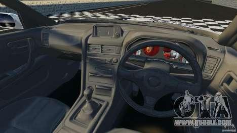 Nissan Skyline R-34 Atomic for GTA 4 back view
