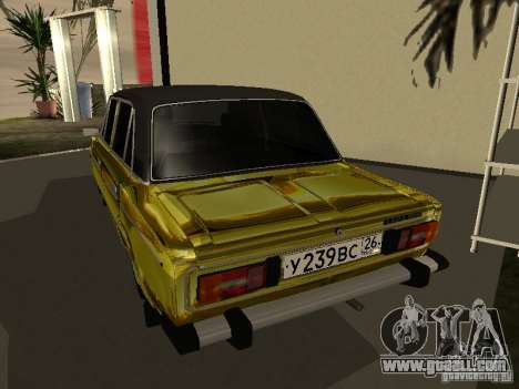 Vaz 2106 (gold) for GTA San Andreas left view
