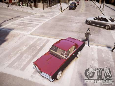 Pontiac GTO 1965 Custom discks pack 1 for GTA 4 right view
