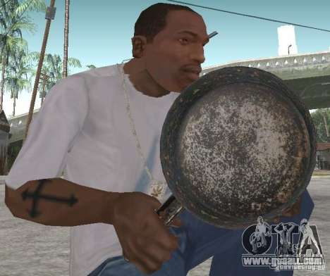 Frying Pan for GTA San Andreas second screenshot