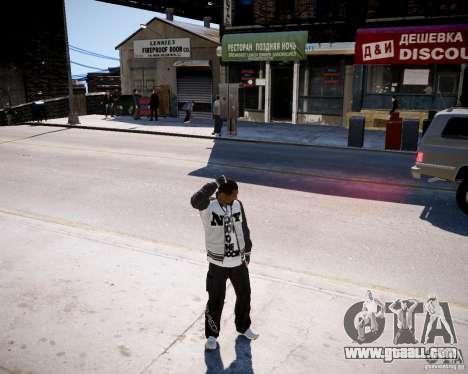 Niko - Cj for GTA 4 third screenshot