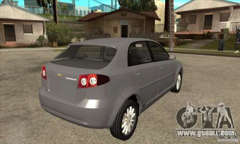 Chevrolet Optra 2011 Hatchback for GTA San Andreas right view