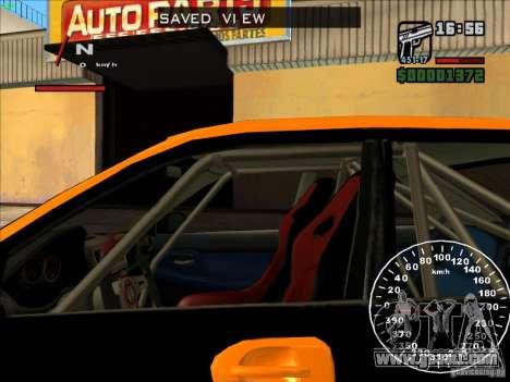 Subaru Impreza WRX Sti 2006 Elemental Attack for GTA San Andreas inner view