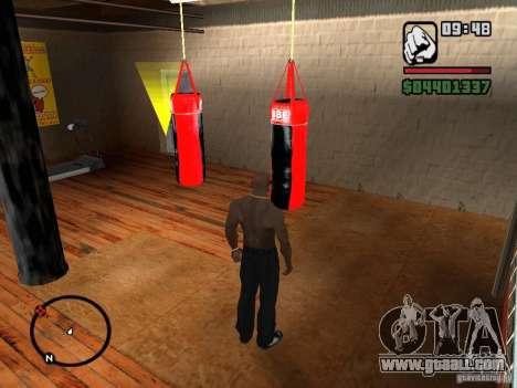 Punshbag for GTA San Andreas third screenshot