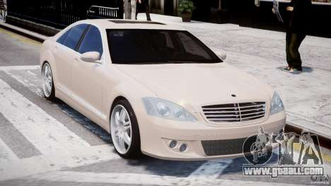 Mercedes-Benz S-Class BRABUS S Biturbo W221 2006 for GTA 4