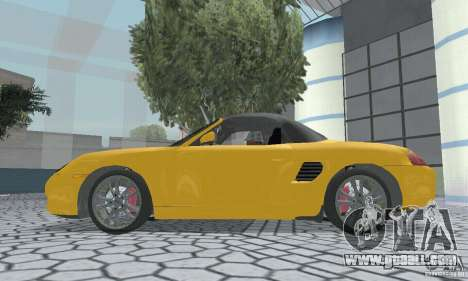 Porsche Boxster for GTA San Andreas right view