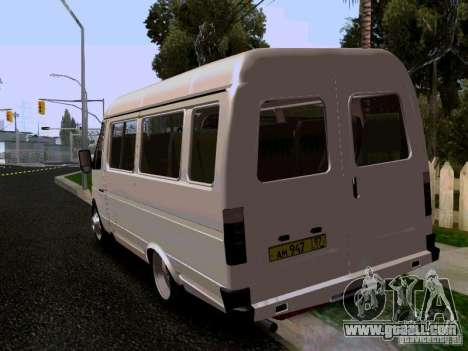 Gazelle 32213 1994 for GTA San Andreas left view
