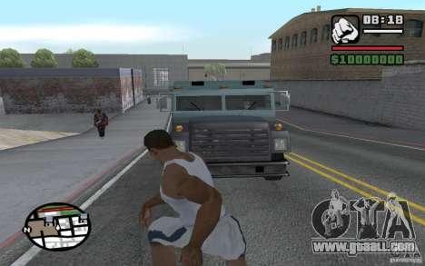 Throwing shovels for GTA San Andreas third screenshot