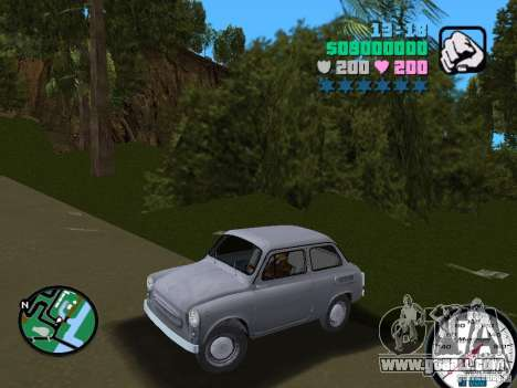 ZAZ 965 for GTA Vice City back left view