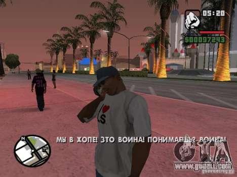 Iphone 4 g Black for GTA San Andreas third screenshot