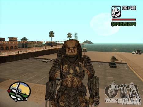 Predator Predator for GTA San Andreas