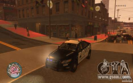Ford Taurus Police for GTA 4