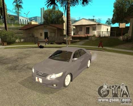 Toyota Camry XV40 2007 for GTA San Andreas