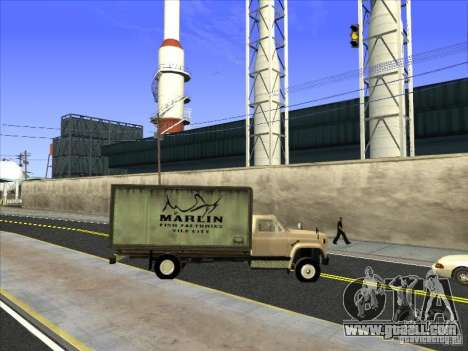 Yankee based on GMC for GTA San Andreas upper view