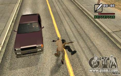 Cj hunt V 2.0 for GTA San Andreas second screenshot