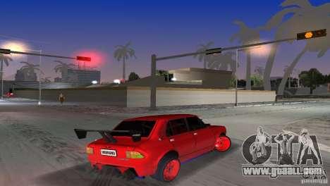 Zastava 110 GT for GTA Vice City left view