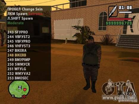 GTA IV peds to SA pack 100 peds for GTA San Andreas seventh screenshot