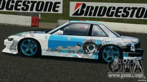 Nissan Silvia S13 Non-Grata [Final] for GTA 4 left view