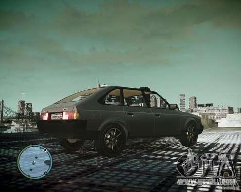 AZLK Moskvich 2141 for GTA 4 back view